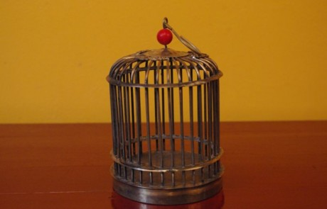 chinese cricket metal cage