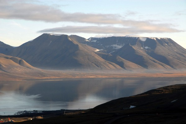 The Svalbard Global Seed Vault and surroundings